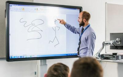 Ali je interaktivni zaslon v sejni sobi zares uporaben?