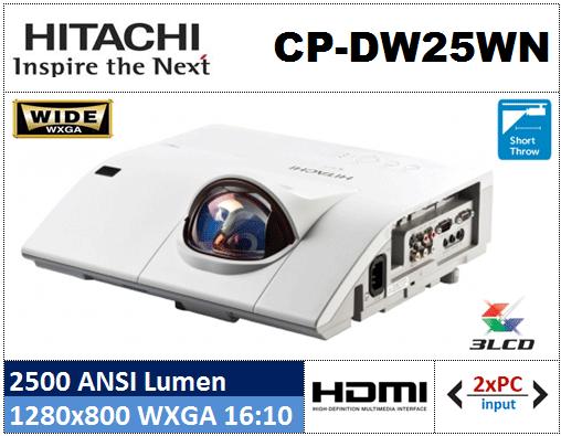 Projektor Hitachi CP-DW25WN