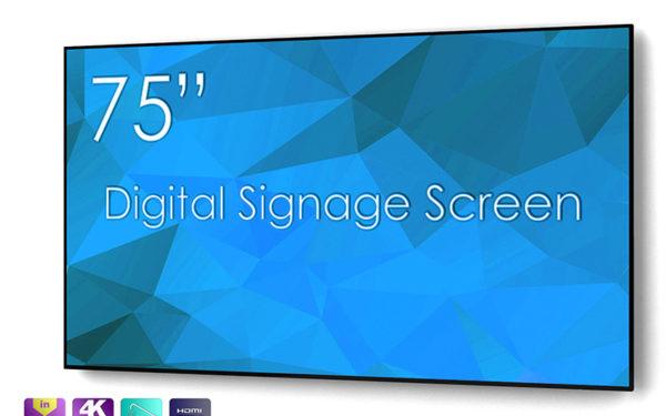Profesionalni 4K UHD zaslon SWEDX SDS75K8 75''