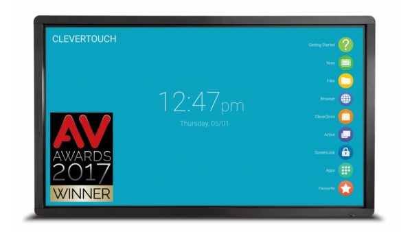 Clevertouch Plus Series 75'' | High Precision 4K interaktivni zaslon