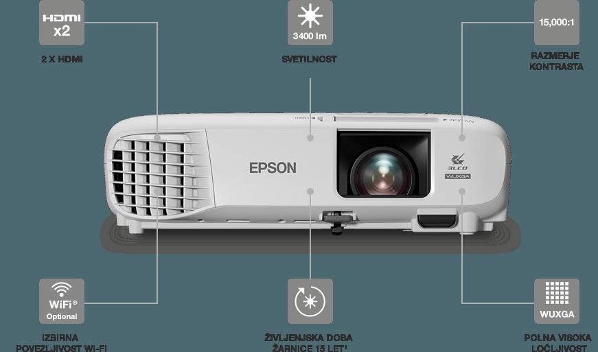 Projektor Epson EB-U05