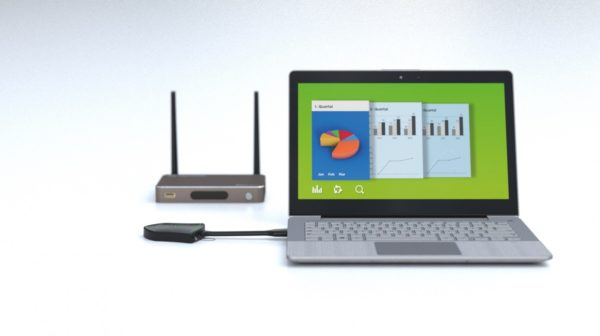 Profesionalni brezžični prezentacijski sistem Klick and Show