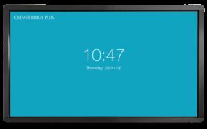 Clevertouch Plus Series 65'' | High Precision 4K interaktivni zaslon