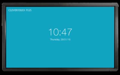 Clevertouch Plus Series 65''   High Precision 4K interaktivni zaslon