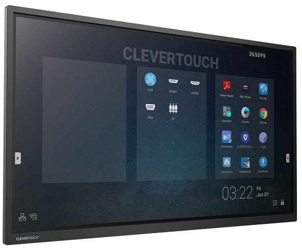 Interaktivni zaslon Clevertouch Pro 65'' | E-Cap