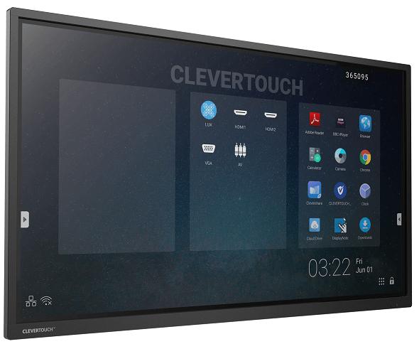 Interaktivni zaslon Clevertouch Pro 86'' | E-Cap