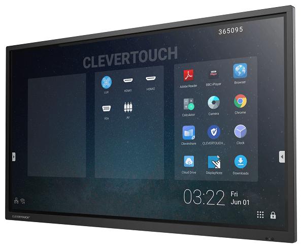Interaktivni zaslon Clevertouch Pro 75'' | E-Cap