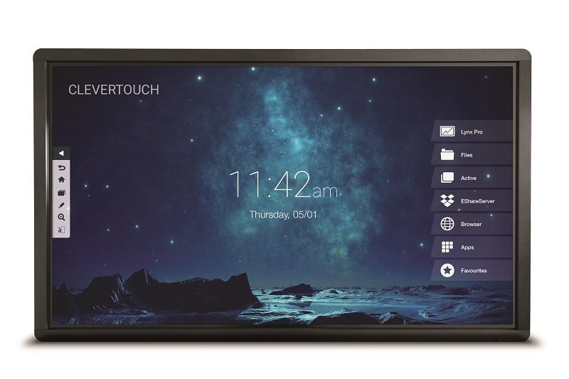 Interaktivni zaslon Clevertouch Pro 55'' | High Precision