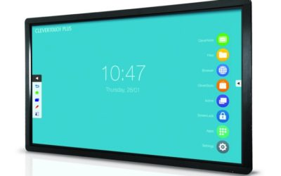 Clevertouch Plus Series 55'' | High Precision 4K interaktivni zaslon