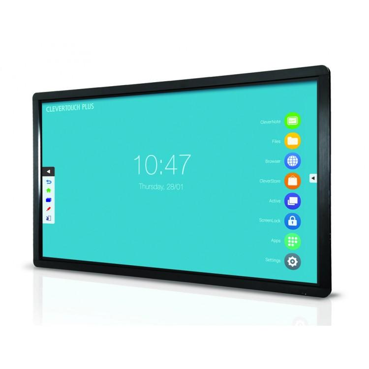 Clevertouch Plus Series 55''   High Precision 4K interaktivni zaslon