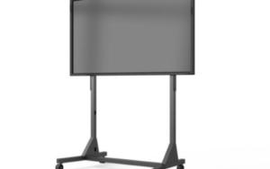 Profesionalno mobilno stojalo s fiksno višino za interaktivne zaslone