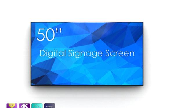 Profesionalni 4K UHD zaslon SWEDX SDS50K8 50''