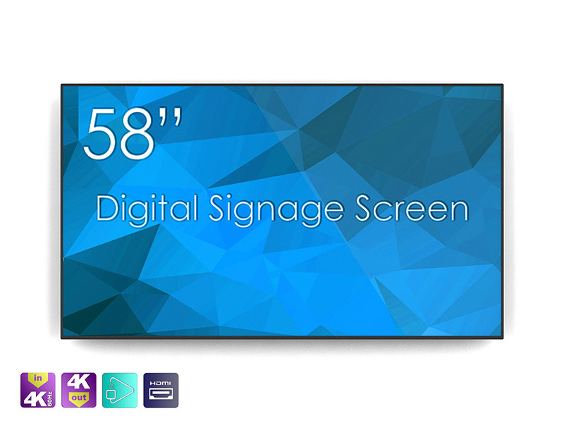 Profesionalni 4K UHD zaslon SWEDX SDS58K8 58''