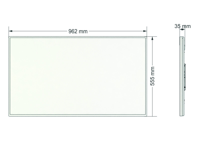 Profesionalni 4K UHD zaslon SWEDX SDS43K8 43''
