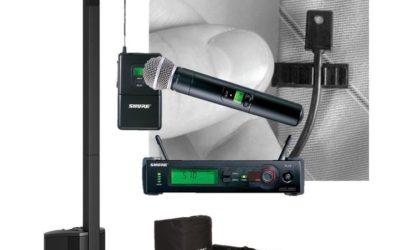 Profesionalno brezžično ozvočenje Bose L1 Compact – premium paket M
