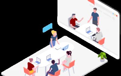 Vrnitev v prihodnost: Kako se boste do 2022 ustrezno opremili za hibridna srečanja